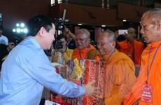 Gặp mặt, động viên đồng bào Khmer nhân dịp Tết Chôl Chnăm Thmây