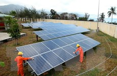 Khuyến khích phát triển các dự án điện mặt trời tại Việt Nam