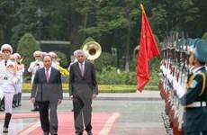 Thủ tướng Sri Lanka và Phu nhân kết thúc chuyến thăm Việt Nam