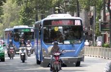 TP. Hồ Chí Minh dự kiến sẽ có 841 xe buýt sử dụng khí thiên nhiên