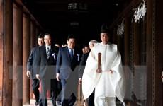 Trung Quốc phản ứng việc Thủ tướng Nhật gửi đồ lễ đến đền Yasukuni