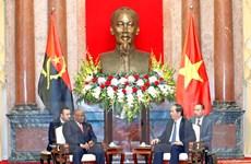 Chủ tịch nước Trần Đại Quang tiếp Bộ trưởng Ngoại giao Angola