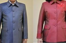 Họa tiết hoa sen tạo điểm nhấn trên trang phục nguyên thủ tại APEC