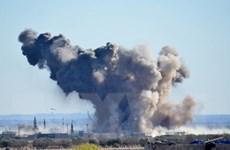 Israel bắn tên lửa vào sân bay Syria gây ra một vụ nổ lớn