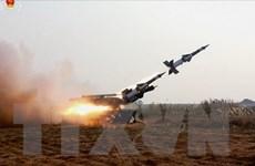 Triều Tiên đăng hình ảnh tấn công giả định bằng tên lửa vào Mỹ