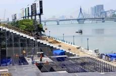Sẵn sàng cho giờ khai hội lễ hội pháo hoa quốc tế Đà Nẵng 2017