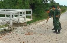 Nổ bom bất thường ở biên giới giữa Thái Lan và Malaysia