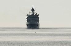 Hải quân Nga sắp hạ thủy tàu đổ bộ cỡ lớn Pyotr Morgunov