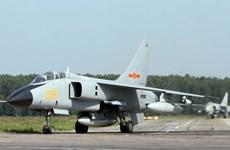 Máy bay chiến đấu Trung Quốc tập trận bắn đạn thật trên Biển Đông