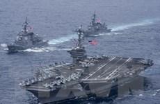 Quân đội Mỹ sẽ tiếp tục thực hiện các cuộc tuần tra tại Biển Đông