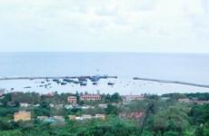 Hải Phòng hạ thủy thành công tàu chở khách ra đảo Bạch Long Vĩ