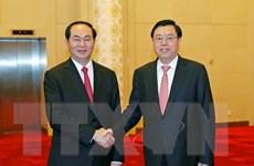 Chủ tịch nước: Việt-Trung đều có nhu cầu duy trì ổn định để đổi mới