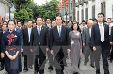 Chủ tịch nước Trần Đại Quang thăm tỉnh Phúc Kiến của Trung Quốc