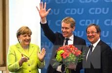 Đảng của Thủ tướng Angela Merkel chiến thắng tại bang chiến địa