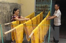 Thăng trầm nghề trồng dâu, nuôi tằm, dệt nhiễu Hồng Đô