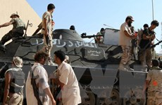 Libya: Lực lượng trung thành với Tướng Haftar không kích miền Nam