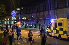 Nổ tại buổi biểu diễn ca nhạc ở Manchester, nhiều người thiệt mạng