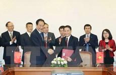 Thông tấn xã Việt Nam và Tân Hoa xã ký Thỏa thuận hợp tác mới