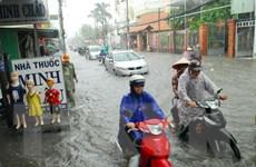 Nhiều khu vực tại Thành phố Hồ Chí Minh lại ngập sâu do mưa lớn