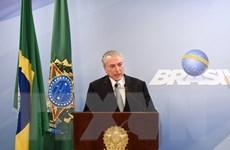 Brazil: Thêm nhiều chính đảng không ủng hộ Tổng thống Temer