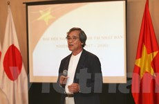 Ông Trần Ngọc Phúc là Chủ tịch Hội người Việt tại Nhật Bản