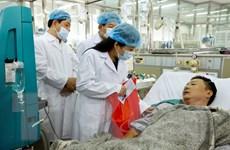 Hội Chữ thập Đỏ Việt Nam hỗ trợ các bệnh nhân trong sự cố chạy thận