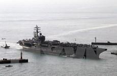 Nhật Bản lên kế hoạch tổ chức tập trận chung với tàu sân bay Mỹ