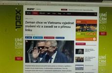 """Nghị viện châu Âu đưa ra kết luận truyền thông Séc """"vô tội"""""""