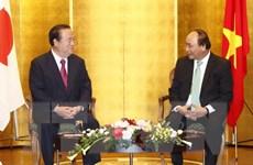 Thủ tướng Nguyễn Xuân Phúc tiếp Thống đốc tỉnh Ibaraki