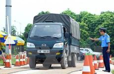 Xử lý hơn 1.000 trường hợp xe quá tải, xe giả danh tại Hà Nội