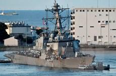 Mỹ kết thúc cuộc tìm kiếm và cứu hộ tàu khu trục Fitzgerald