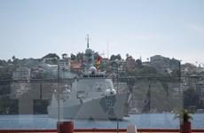 Tàu chiến Trung Quốc lên đường tới Nga để tham gia tập trận chung