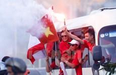 Hà Nội thắng Hải Phòng 2-0 trong không khí sôi động từ khán đài