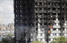 Nhiều người dân sống trong chung cư ở London phải sơ tán vì lo cháy nổ