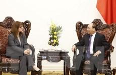 Thủ tướng Nguyễn Xuân Phúc tiếp Đại sứ Israel tới chào từ biệt