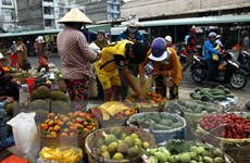 Đưa vào hoạt động chợ đầu mối nông sản lớn nhất Đông Nam Bộ