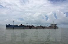 Bắt giữ nhiều phương tiện khai thác trái phép trên vùng biển TP.HCM