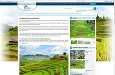Trang web quảng bá du lịch Việt Nam ra mắt diện mạo mới