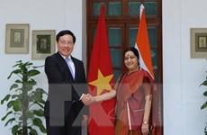 Phó Thủ tướng, Bộ trưởng Ngoại giao thăm chính thức Ấn Độ