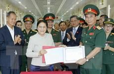 Chủ tịch Quốc hội Lào Pany Yathotou thăm và làm việc tại Sơn La