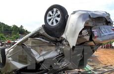 Tàu hỏa đâm trực diện xe ôtô 4 chỗ, 2 người tử vong tại chỗ