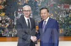 Tăng cường hợp tác giữa Bộ Công an Việt Nam và Interpol