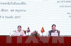 Việt-Lào chia sẻ kinh nghiệm thực hiện giám sát đất đai của HĐND