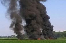 Đã tìm thấy 16 thi thể trong vụ rơi máy bay quân sự tại Mỹ