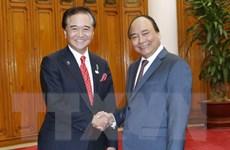 Thủ tướng Nguyễn Xuân Phúc tiếp Thống đốc tỉnh Kanagawa