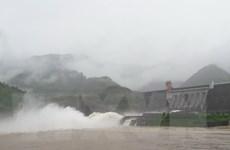 Thủy điện Sơn La đã mở một cửa xả đáy vào lúc 8 giờ ngày 19/7