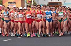 Lần đầu tiên giải điền kinh thế giới có môn đi bộ 50km nữ