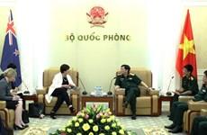 Tổng Thư ký Quốc phòng New Zealand Helene Quilter thăm Việt Nam