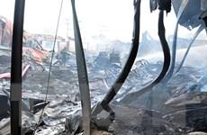 Hỏa hoạn tại trạm biến áp cấp điện cho Samsung Thái Nguyên