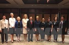 Việt Nam cam kết cùng ASEAN thúc đẩy sáng kiến đầu tư cho phụ nữ